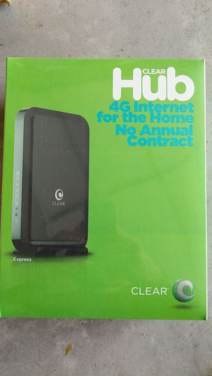 Hub Express 4G Internet Clear *NEW *UNUSED for Sale in San Diego, CA