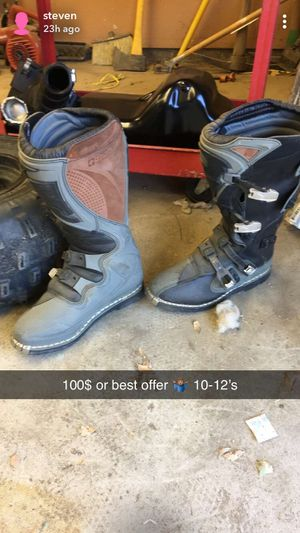 Dirt bike boots for Sale in Coarsegold, CA