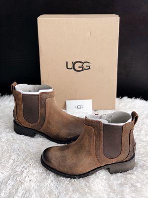✨New UGG Australia Bonham II Waterproof Chelsea Boots Brown Women's Shoes Size 7M for Sale in Spring, TX