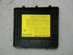OEM Hyundai Tiburon 2003-2008 Lower Dash Fuse Box Access BCM OBD Door Cover Panel for Sale in Davie, FL