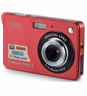 "21 Mega Pixels 2.7"" LCD Rechargeable HD Digital Camera Video Camera Digital Students Cameras,Indoor Outdoor for Adult/Seniors/Kid (Red) for Sale in Arlington, TX"