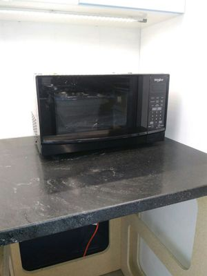 Black Whirlpool Microwave for Sale in St. Louis, MO