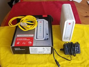 Cable modem for Cox Essential 30Mbps or Preferred 100Mbps, Venmo OK for Sale in San Diego, CA