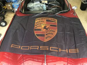Porsche flag / banner - large 3' x 5' for Sale in Miami Lakes, FL
