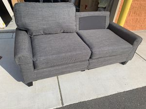 Brand New Grey Couch (missing one back pillow) for Sale in Virginia Beach, VA