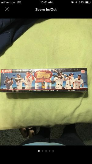 Topps 2001 MLB Trading Cards full set in factory wrapping for Sale in Ijamsville, MD