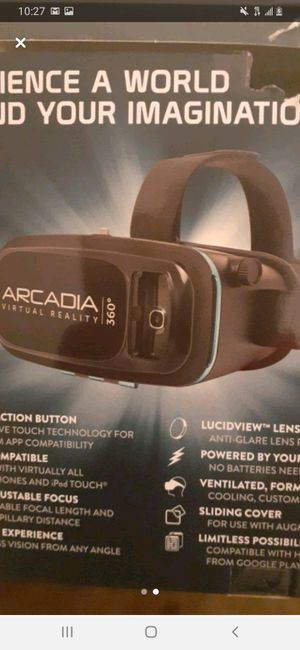 Vr headset for phone never used for Sale in Akron, OH