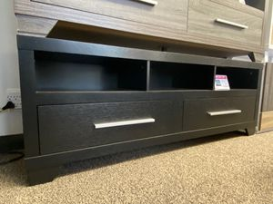 Alexa Tv Stand for Tvs up to 70 inch, Black for Sale in Downey, CA