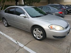 2006 chevy impala ss for Sale in Houston, TX