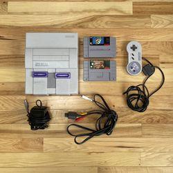 Super Nintendo Original - MINT for Sale in Tukwila,  WA