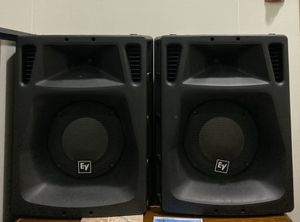 Pair of EV SX-500+ for only $200. Sound Great. Good for Dj of Band. for Sale in Redlands, CA