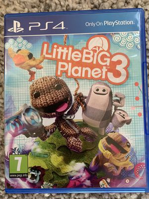 Little Big Planet 3 (PS4 game) for Sale in North Bergen, NJ