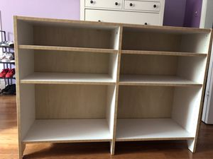 Bookcase and Storage Bins - Must go for Sale in Silver Spring, MD