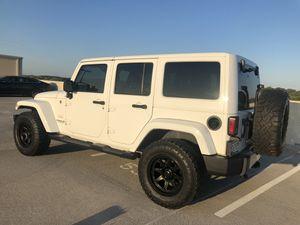 2012 Jeep Wrangler Sahara unlimited for Sale in Adelphi, MD