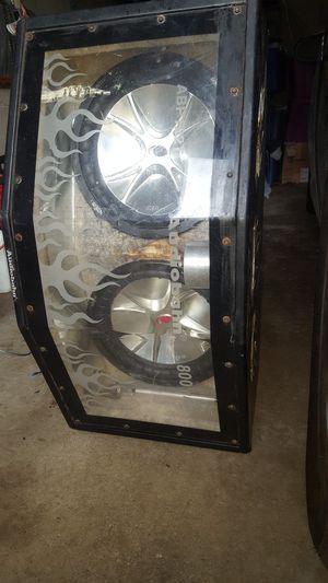 """2 12"""" Kicker Cvrs w box for Sale in Blaine, MN"""
