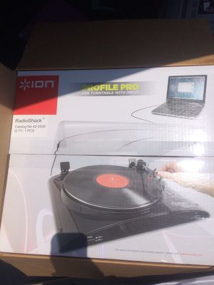 New ion audio profile pro MP3 digital turntable w aux input $50 for Sale in San Diego, CA