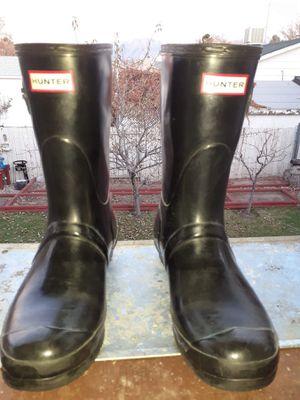 Hunter Unisex Rain Boots. 9 in mens, 10 in women's for Sale in West Valley City, UT