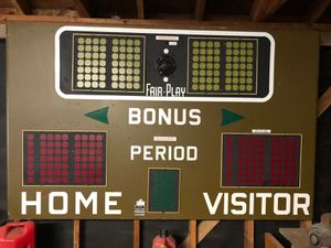 Vintage scoreboard sign for Sale in Seattle, WA