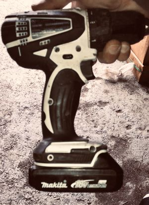 Makita cordless drill and battery for Sale in Indian Orchard, MA