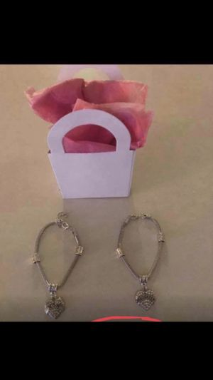 NEW GIFT WRAPPED MOM & DAUGHTER CHARM BRACELETS-$5 EA for Sale in Marietta, PA