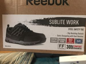 Reebok sublite work boots-shoe for Sale in Coral Gables, FL
