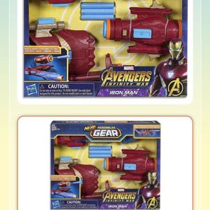 3 NERF BLASTERS - Marvel Avengers - Iron Man, Captain America, Star Lord for Sale in Carlsbad, CA