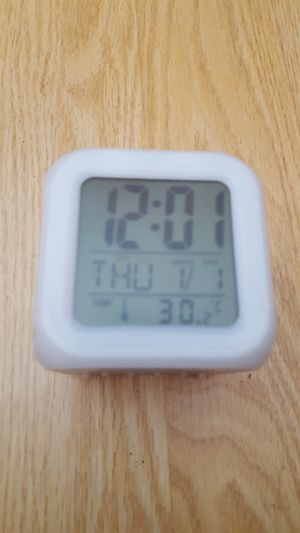 Digital Cubic Clock for Desk for Sale in Norco, CA