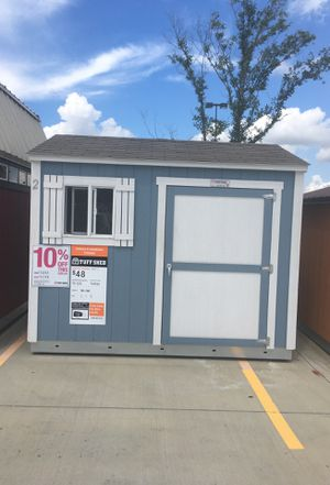 1832 Tuff Shed TR700 8x10 display Was $3,032 now $2,729 for Sale in Houston, TX