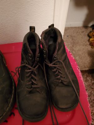 Dr martens $20 sz 20 1/2 work boots $10 for Sale in Pearland, TX