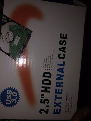 Hard drive case for Sale in Bakersfield, CA