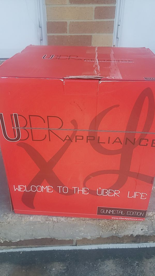 UBER APPLIANCE MINI PORTABLE FRIDGE