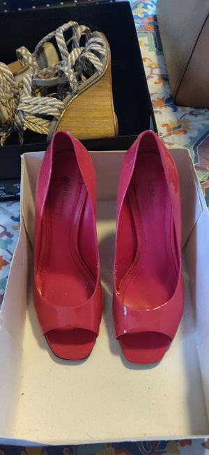 BCBG Pink Patent Leather Heels for Sale in Virginia Beach, VA