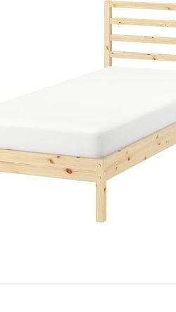 Twin bed frame and twin mattress. Brand New only Used Twice. for Sale in View Park-Windsor Hills,  CA