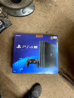 PS4 pro for Sale in Detroit, MI