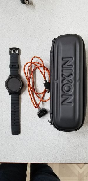 Nixon mission watch for Sale in Lacey, WA