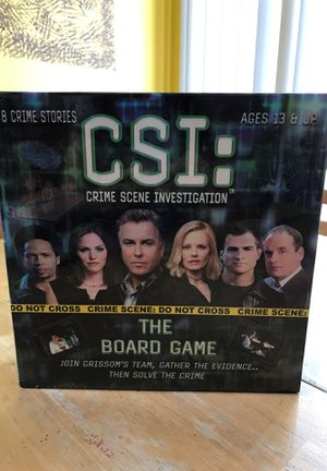 New CSI board game for Sale in Glendale Heights, IL