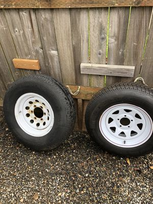Trailer spare tires. (Nearly new) for Sale in Vancouver, WA