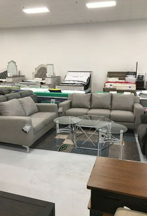 ☑ Special for Black Friday ‼ Ryler Steel Living Room Set 36 for Sale in Columbia, MD
