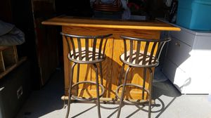 Bar @ 2 chairs... for Sale in Reedley, CA