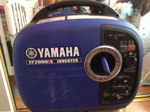 yamaha generator inverter for Sale in Glendale, AZ
