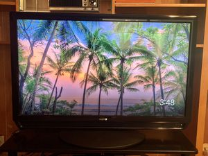 TV: Sanyo 42 inch flat screen (with remote)-pick up only for Sale in Fresno, CA