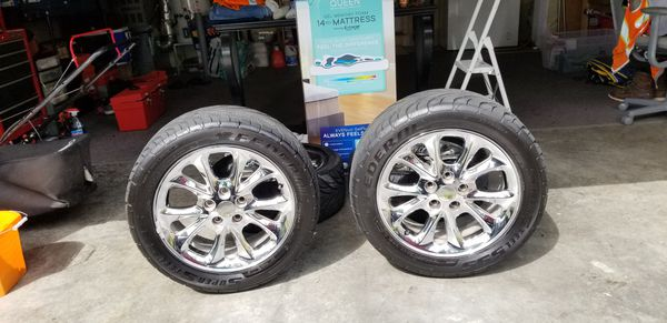 "Chrome Rims 17"" 5×114"