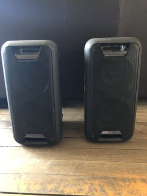 Sony Bluetooth speakers. for Sale in Chicago, IL