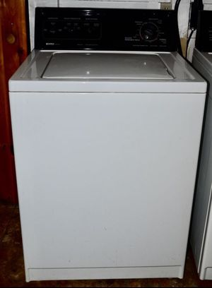 Top loading washing machine from Kenmore. In good condition showing normal use. Please note the washer is in an upstairs room. It would need to be r for Sale in Baker, CA