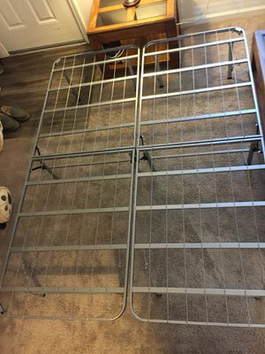 """QUEEN SIZE ALUMINUM BED FRAME"" for Sale in Chico, CA"