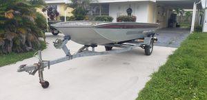 16ft Monark Aluminum boat and trailer for Sale in Pembroke Pines, FL