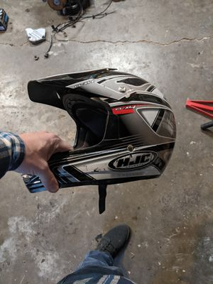 XL - HJC dirt bike helmet for Sale in Milwaukie, OR