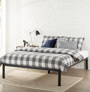 Platform Bed is 14 inches Twin size j9- 1432 for Sale in St. Louis, MO