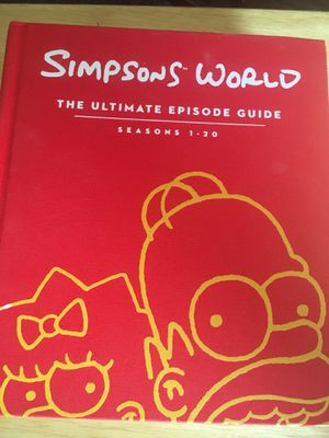 Simpsons world book for Sale in Oshkosh, WI