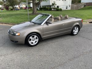 2003 Audi A4 1.8t convertible runs and looks great only has 75,000 miles for Sale in Annandale, VA